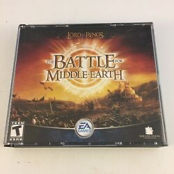 Lord Of The Rings The Battle For Middle-earth Pc Windows 2004 Complete W/ Key