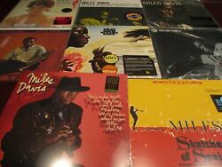 MILES DAVIS BITCHES BREW LEGACY EDITION TOTAL OF 9 AUDIOPHILE 180 GRAM RARE SET