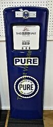 New Pure Gas Pump Front Door Display Oil Replica - Free Shipping