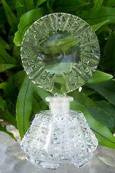 Vintage Czech Perfume Scent Bottledauber Intact4.75 Tallhighly Collectible