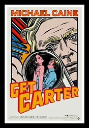 GET CARTER ✯ RARE COMIC CineMasterpieces 1SH MOVIE POSTER MICHAEL CAINE 1971
