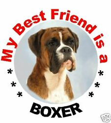 2 Boxer Car Stickers MBF Designed By Starprint