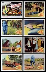 Earth Vs. Flying Saucers ✯ Cinemasterpieces Lobby Card Set Movie Posters