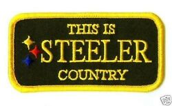 2009 Tampa Bay Super Bowl Xliii 43 Iron-on Patch Pittsburgh Steelers Country