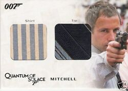 James Bond Archives Qc14 Glenn Foster As Mitchell Costume Card Dirty Variant