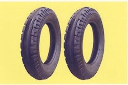 2 New 4.00-15 Original 3-rib Front Tractor Tires And Tubes Fits John Deere