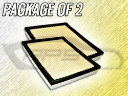Air Filter Af4727 For Qx56 Cherokee Armada Frontier Pathfinder - Package Of Two