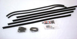 1930 1931 Ford Model A Coupe And Sport Coupe Door Window Channel Kit - Both Doors