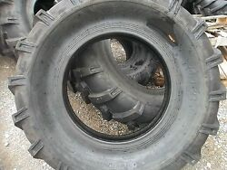 Two 14.9x24 14.9-24 Ford-new Holland 8210 Farm Tractor Tires 8 Ply