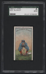 1888 S. F. Hess N321, Buckley - Graded Sgc A Auth