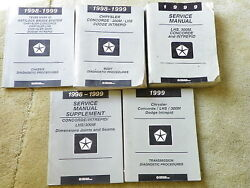 1999 LHS, 300M, Concorde and Intrepid Service Manuals