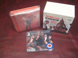 The Who My Generation/sell Out Japan Rare Obi 5 Replica Lps/cds Box Set +bonuses