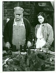 Shannen Doherty Wilford Brimley Lionel Train Set Our House 1986 Nbc Tv Photo