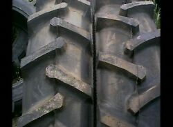 Two 23.1x26 Ford John Deere 12 Ply Tubeless R1 Bar Lug Rear Tractor Tires