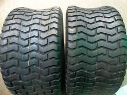 Two 26/12.00-12 26/12x12 Lawnmower/golf Cart 6 Ply Tubeless Turf Tread Tires