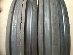 Ford Tractor 2 13.6x28 8 Ply Tires W/wheels And 2 600x16 3 Rib W/tubes