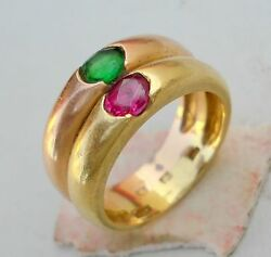 Rare Ancient Antique Tribal Old Gold Ring 20ct India
