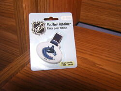 Hockey Vancouver Canucks Nhl Baby Pacifier Clip Mip
