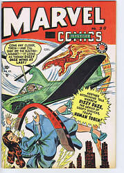 Marvel Mystery Comics 90 Bell Features 1949 Canadian Edition