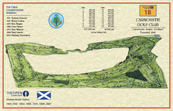 British Open Courses--14 Vintage Golf Course Maps Of All Open Courses Since 1860