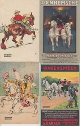 Horses Advertising 22 Vintage Postcards Pre-1940 With Better