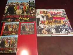 The Beatles Rare Sgt Pepper 2012 + Anthology 2 Usa Capitol Release 3 Lps+cds Set