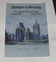 Antique Collecting October 1980 - British Cut Glass - An Appraisal