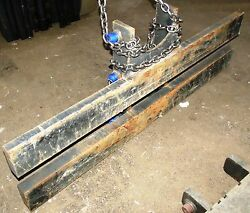 2795003 Carriages 64 Wide Height 16 Class2 Ii Fork Bar 2 1/4 Thick
