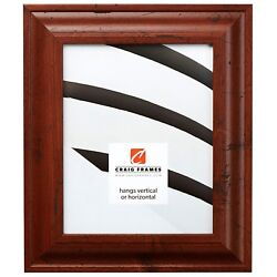 Craig Frames Premium 2 Distressed Rustic Brown Picture Frames And Poster Frames
