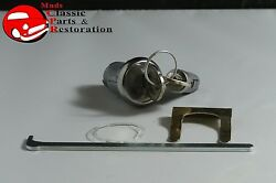 67 Chevelle Glovebox And Trunk Lock Pear Shape Oem Original Keys Case Not Included