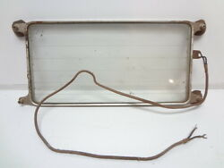 Early To Mid 1930and039s Style Original Window Defroster Panel Fulton Co. 6 Volt
