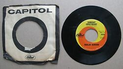 Harlan Howard Capitol 4928 Someday Sweetheart / My Baby's His Bay Now 45rpm