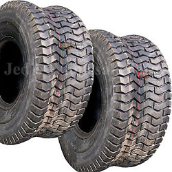 2 18x6.50-8 18x650-8 18/6.50-8 Riding Lawn Mower Garden Tractor Turf Tires 4ply