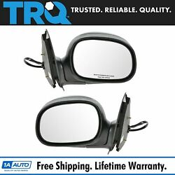 Trq Power Side View Mirrors Folding And Pair Set For F-series Pickup Truck