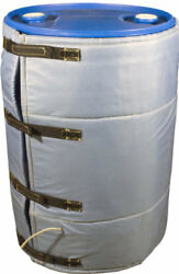 Insulated Blanket Drum Heater For 55 Gallon Barrels Digital Thermostat 167f