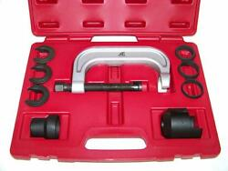 Upper Control Arm Bushing Service Tool Set Remover Installer Front End Service