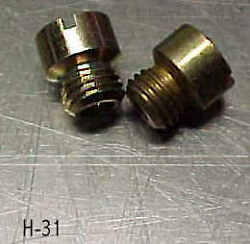 Holley Ford 94 New Main Jets 1 Pair Size-.052 Flathead Hot Rat Rod Tri Power