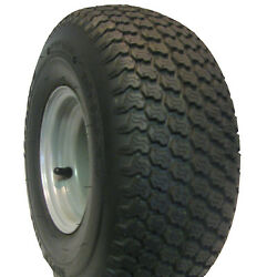 15x6.00-6 15/6.00-6 Tire Rim Wheel Assembly Simplicity Riding Lawn Mower 4ply