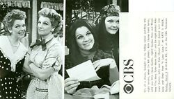 Susan Saint James Jane Curtain As Lucy And Ethel Kate And Allie 1987 Cbs Tv Photo