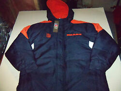 Chicago Bears Hooded Parka Youth Sz X-large 18-20 Nwt