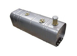 Universal Gas Fuel Tank With 3 Threaded Neck And Billet Cap And Fuel Injection Tray