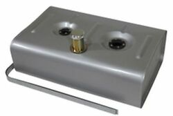 Universal Steel Gas Fuel Tank W/ 3 Neck And Billet Cap W/ Fuel Injection Tray