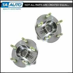 AC DELCO FW293 Front Wheel Hub & Bearing Pair Set w ABS for Chevy Pontiac Buick