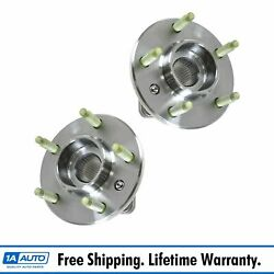 Ac Delco Fw293 Wheel Hub And Bearing Pair Set W/ Abs For Chevy Pontiac Buick