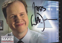 Veronica Mars Pw12 Pieceworks Card B Autographed By Joss Whedon At 2013 Sdcc