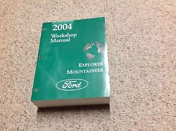 2004 Ford EXPLORER Mountaineer SUV Service Shop Repair Manual BRAND NEW