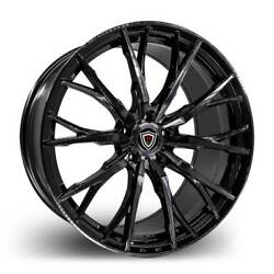 20 Inch Marquee 4409 smoke pol. wheels Rims & Tires Fit 5 X 114.3 Visit my Page