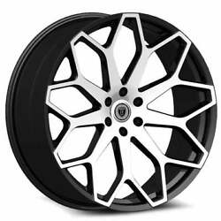 24 X 8.5 Inch Borghini B28 Black Wheels Rims And Tires Fit 5 X 114.3 Visit My Page
