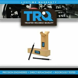 Trq Rear Shock Absorber Left Right Set Pair For Amc Ford Gm Mazda Nissan Toyota