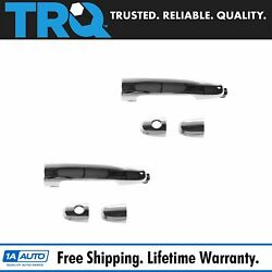 Trq Outside Exterior Chrome Door Handle Lh And Rh Set For Es300 Es330 Tc Camry